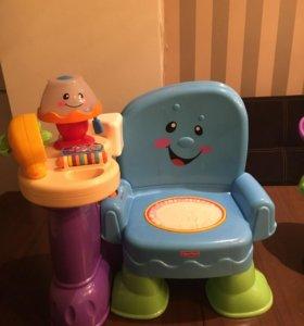 Развивающий стульчик
