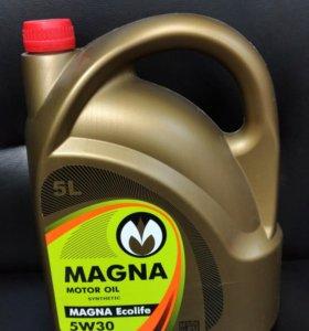 Моторное масло 5w-30