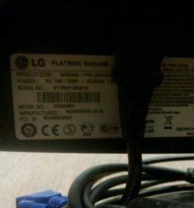 Жк монитор lg flatron w2243s 21,5