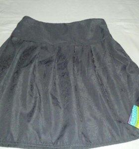 Новые юбки с бархатом рисунком