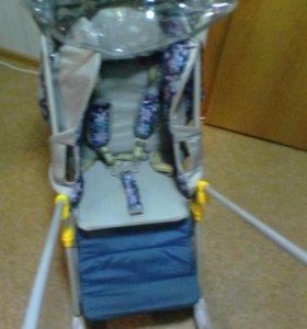 Санки-коляска Галактика