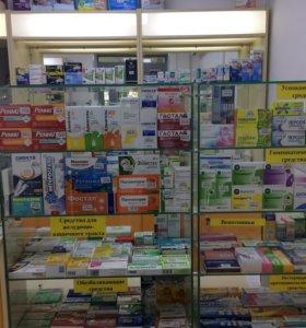 Витрины, шкафы, стеллажи, оборудование для аптеки