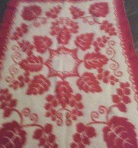 Одеяло детское шерсть 135*90