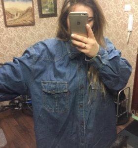 Джинсовая рубашка Левис