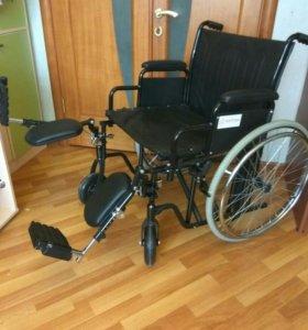 Кресло (коляска) инвалидное до 150кг.