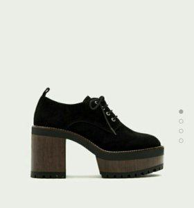 Ботинки/туфли на платформе не скользящие