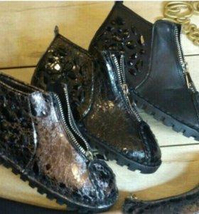 Новая.Женские ботинки в моде.Все размеры