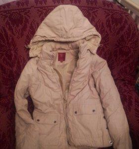 Куртка бежевая