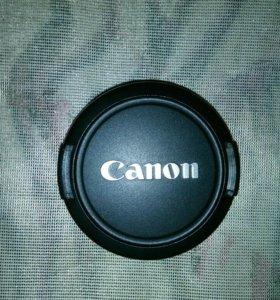 "Крышка объектива ""Canon"" на 58мм. Оригинал."