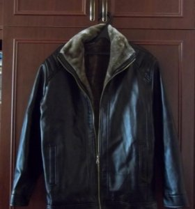 мужская куртка из кож. заменителяя