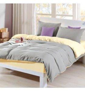 Новое постельное белье Евро