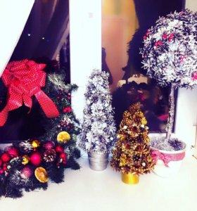 Новогодний декор/украшения