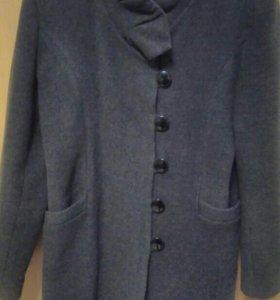 Пальто драповое, размер 48