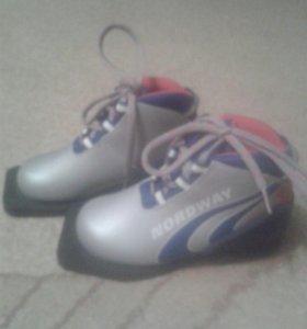 Лыжные ботинки р-р 30