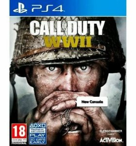 Игра Call of Duty (COD) wwii для PS4 / PS4 Pro
