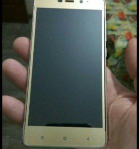 Стекло для Xiaomi Redmi 4 Pro - Gold
