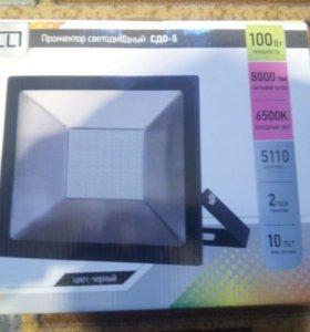 Светодиодный прожектор сдо-5 100 ватт