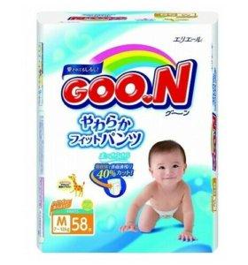 Новые трусики подгузники Goon m