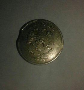 Монета 1р.