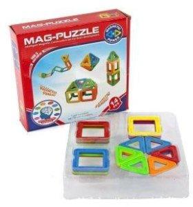 Магнитный конструктор 3D, 14 шт.
