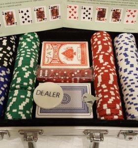 Покерный набор. Набор для покера