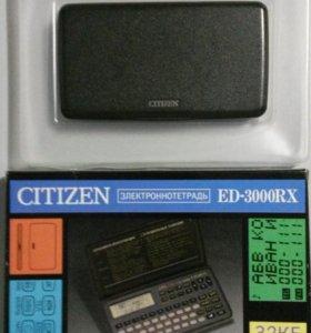 Электронная записная книжка Сitizen ED-3000 RX