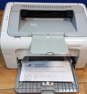 Принтер лазерный HP 1102 б/у