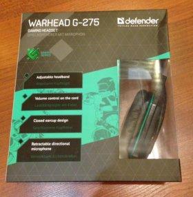 новые Игровые наушники Defender G-275