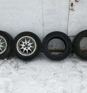 Диски и шины r15 195/65