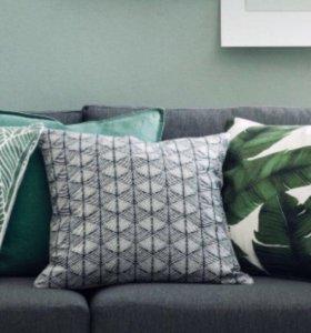 Чехлы на диванные подушки H&M