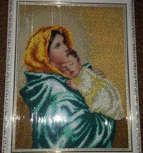 Картины ручная работа вышивка бисером