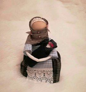 Кукла ручной работы оберег