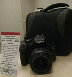 Зеркальный фотоаппарат Canon EOS 550D Kit 18-55 IS