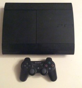 Sony PS 3 (cech-4208 A) super slim + 3 игры