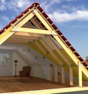 Крыши навесы заборы