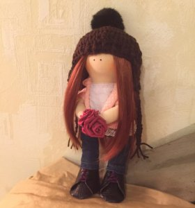 Кукла текстильная ручная работа