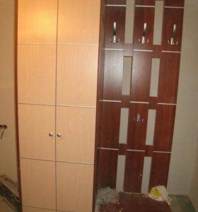 Шкаф прихожая гардероб размер 215х120х36 см