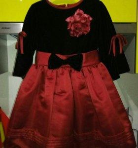 Нарядное платье на 3 года
