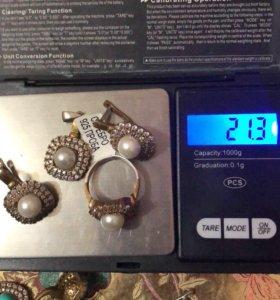 Серебрянные комплекты