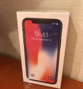 Новый Iphone X 64 gb space gray
