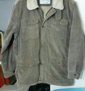 Вельветовая куртка,  мужская. Рамер 52-54.