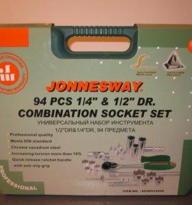 Набор 94 предмета Jonnesway S04H52494S