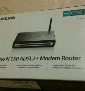 ADSL роутер D-LINK DSL-2600U