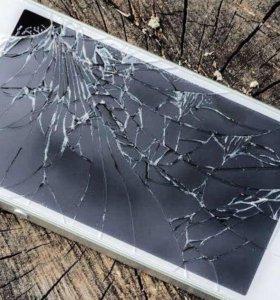 Замена разбитого стекла iphone 4/5/5s/6/6s/7/7plus