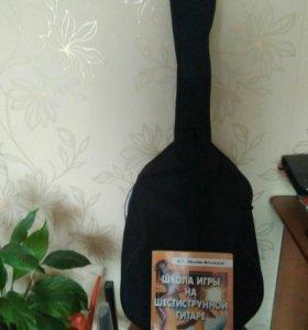 Гитара акустическая honner+чехол+самоучитель