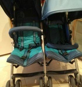 Прогулочная коляска  для двойни Cybex Twinyx