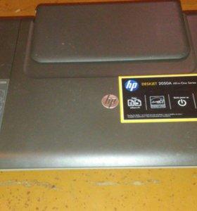 Принтер HP Deskjet 2050 'все в одном' - J510c