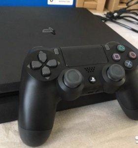 PS4 тонкая 1000gb+23 топовые игры wolfenstein 2