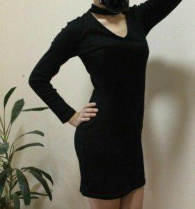 Платье-чокер