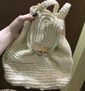 Рюкзак плетёный